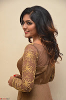 Eesha looks super cute in Beig Anarkali Dress at Maya Mall pre release function ~ Celebrities Exclusive Galleries 072.JPG