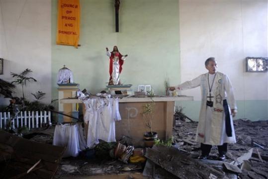 Selain Bakar Gereja, Kelompok Militan Islam Culik Pastor dari Kota Marawi