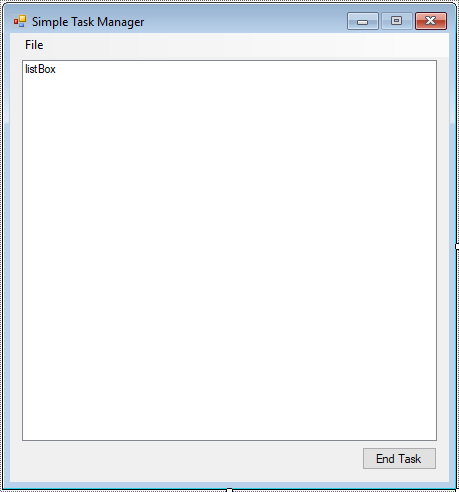 task manager in c#