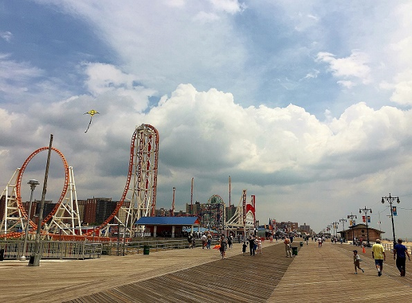 Coney Island amusement park New York