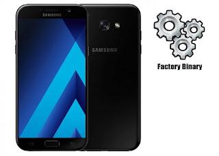 Samsung Galaxy A7 2017 SM-A720X Combination Firmware