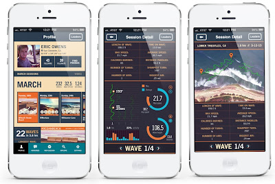 Trace iPhone Screens Action Sports Tracking App