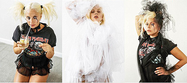 Lady Gaga on the pages of the seventh issue of CR Fashion Book