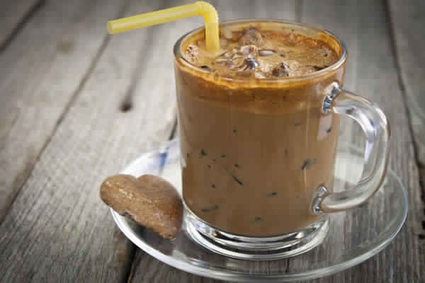إعداد القهوة المثلجة