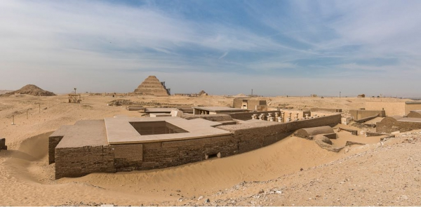 The Walking Dead at Saqqara
