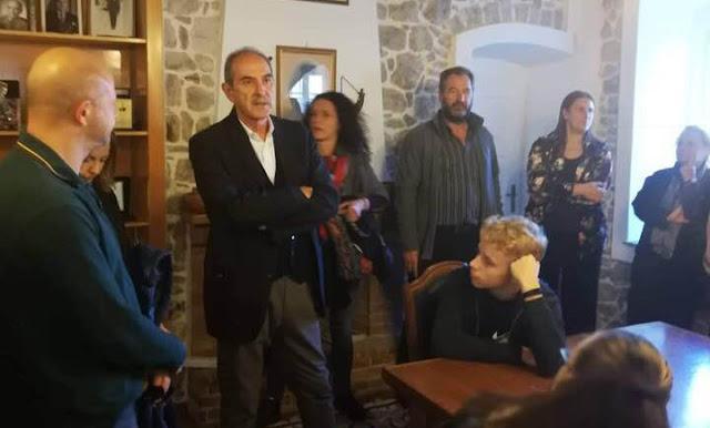 Μαθητές πέντε Ευρωπαϊκών Χωρών επισκέφθηκαν τον Δήμαρχο Ερμιονίδας