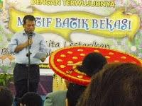 launching Batik bekasi oleh walikota Bekasi