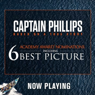 captain phillips oscar nominations