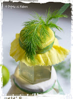 Confit de fenouil du jardin au citron vert