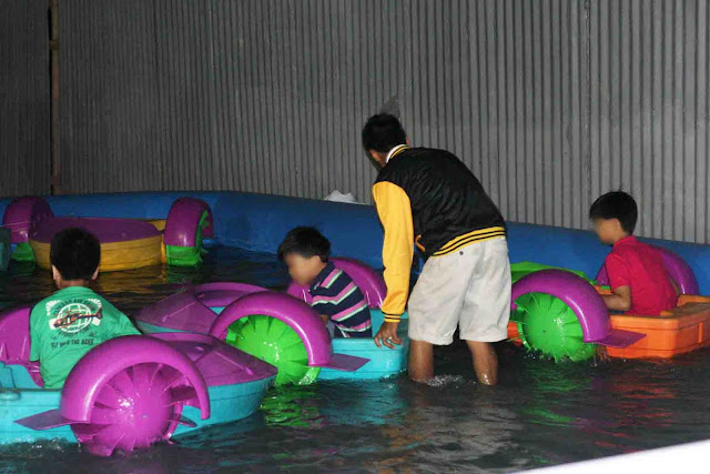 Fun Paddler at Sky Fun Amusement Park at Sky Ranch Tagaytay