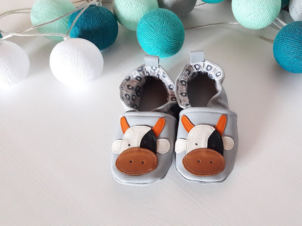Petits chaussons en cuir #2