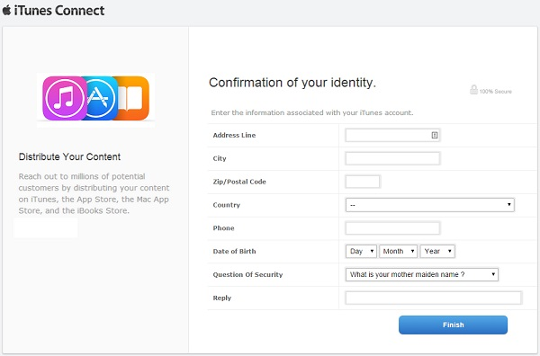 Confirmation of your identity: more personal information stolen