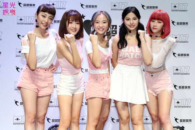 5TEAM:典薇、凱伊、詩媛、苡瑄、阮糖