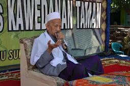 Subhanallah, KH Sholeh Qosim Wafat Saat Sujud Shalat Maghrib