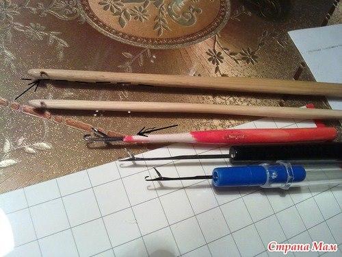 ganchos, agujas, crochet, tipos de ganchos