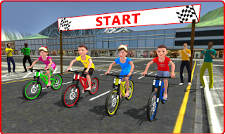 Kids Bicycle Rider Street Race Apk ads-free