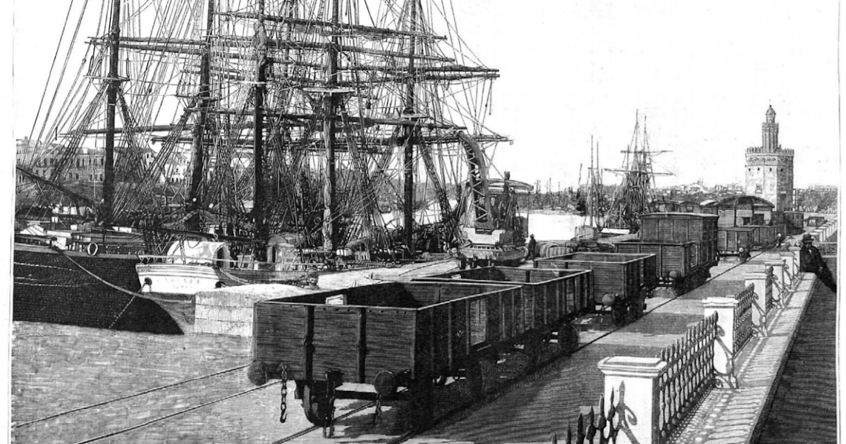 Alma de herrero el puerto de sevilla en 1891 - Herreros en sevilla ...