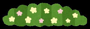 シンプルな草のイラスト3
