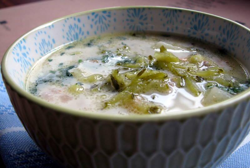 Qchnia Osobista  Zupa ogórkowa