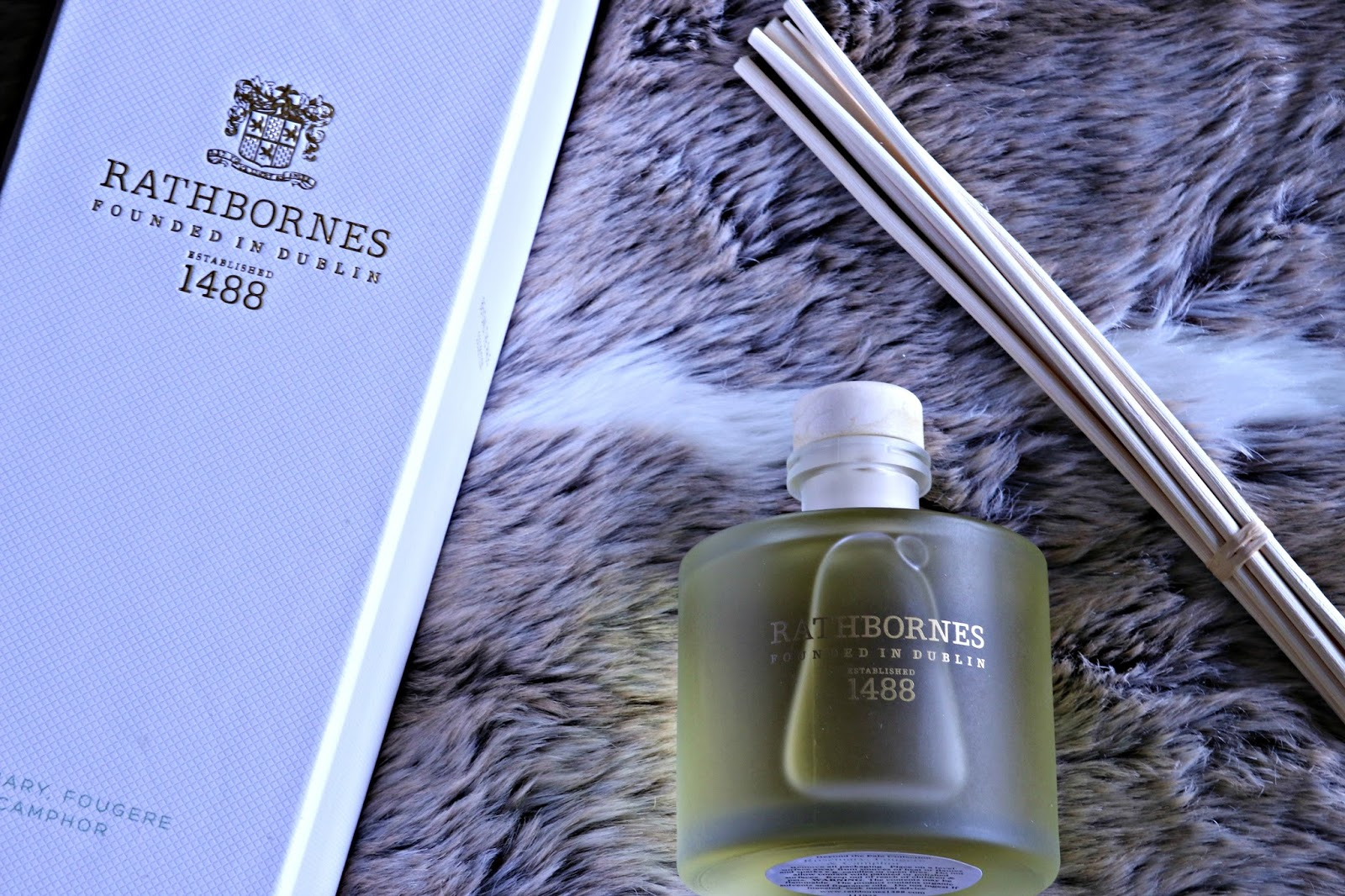 Rathbornes Rosemary Fougere and Camphor Scented Reed Diffuser Image