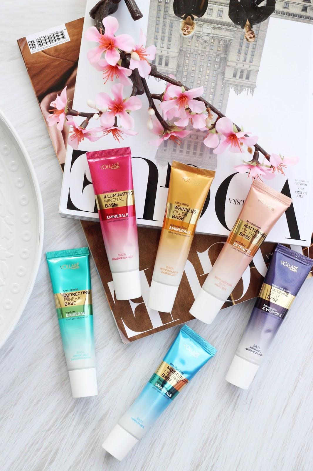 Verona, Vollare Cosmetics -  6 nowych wielofunkcyjnych baz pod makijaż