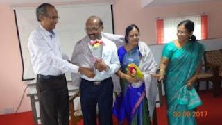 Shri A.Victor, Senior Technician,AIR, Visakhapatnam retired on 30.06.2017.