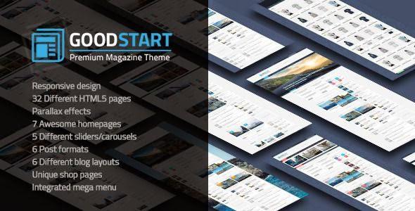 Best Multipurpose Magazine HTML Template