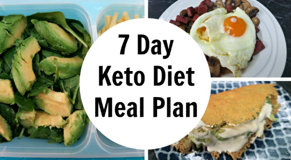 7 Day Keto Diet Meal Plan #healthydiet #delicious