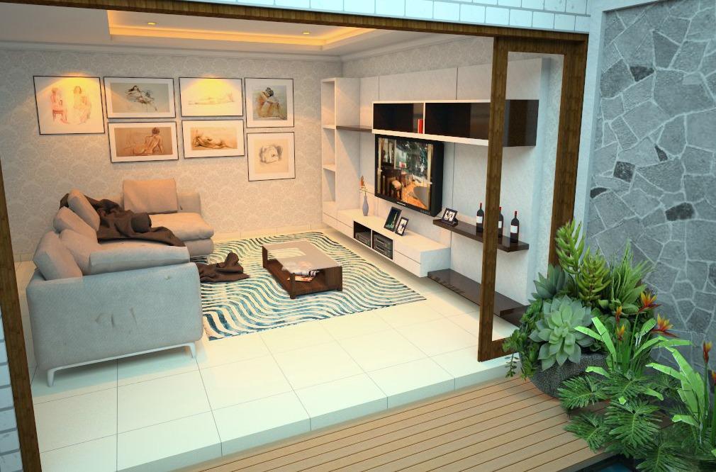 Desain Kontraktor 76 Desain Ruang Keluarga