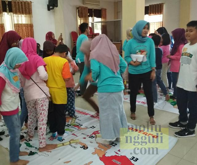 Lomba Ular Tangga Peta  Indonesia