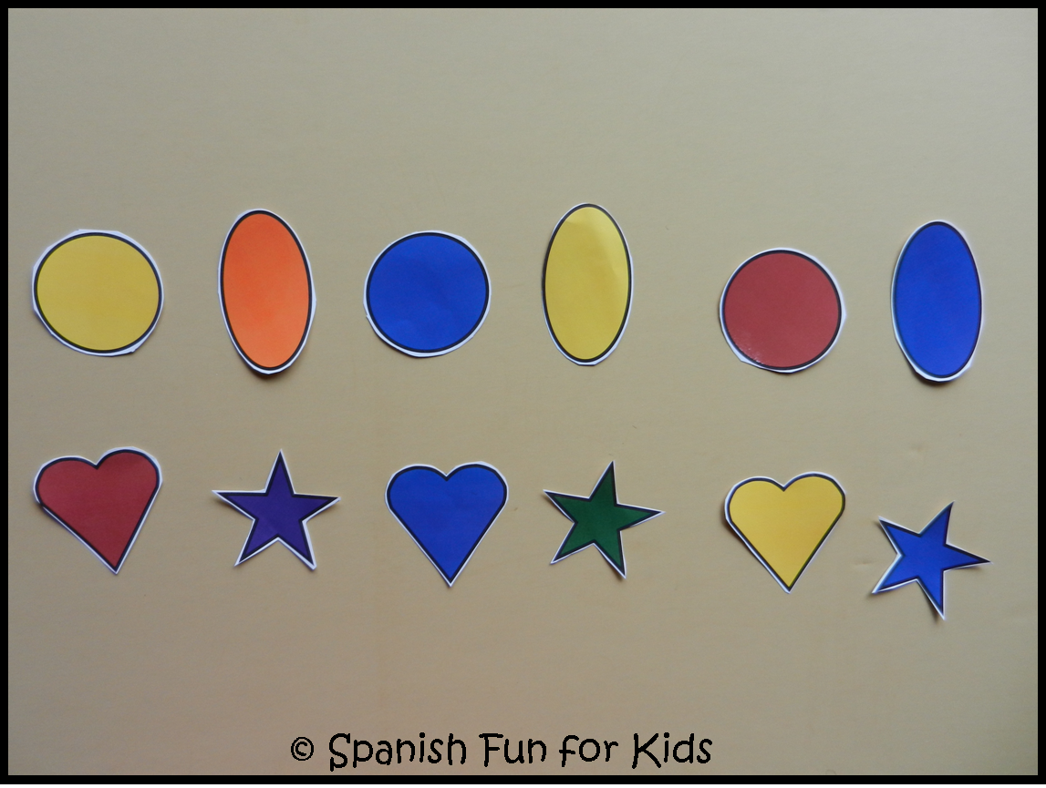 Music And Spanish Fun: Games To Reinforce Colors And Shapes