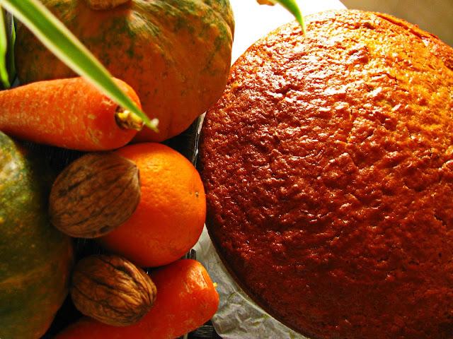 Resultado de imagem para bolo de cenoura e abóbora