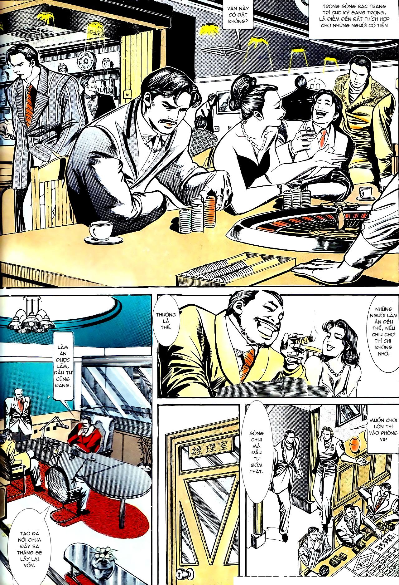 Người Trong Giang Hồ chapter 153: xích mích trang 23