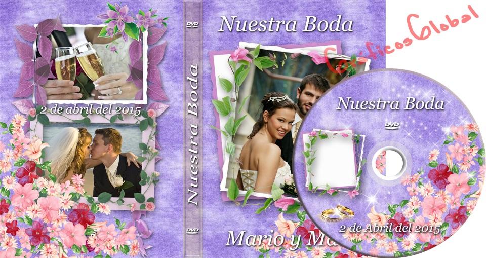 Plantilla psd premium crear portada DVD