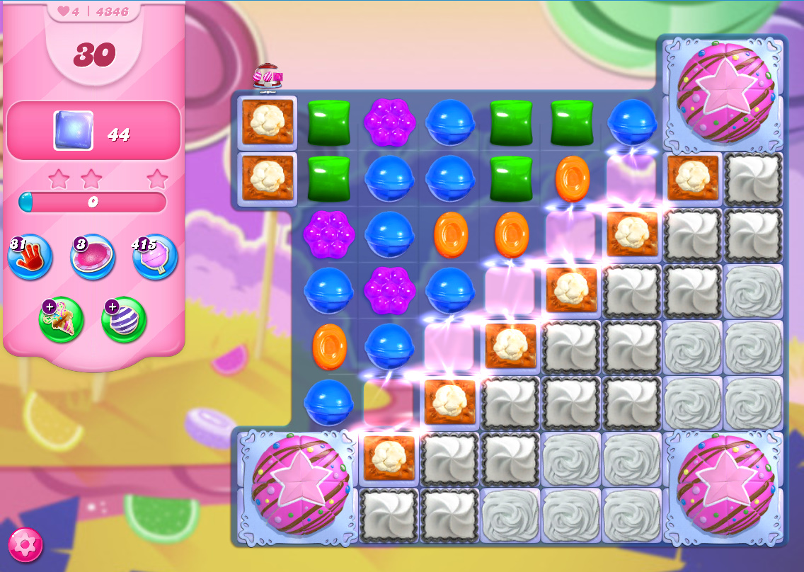 Candy Crush Saga level 4346