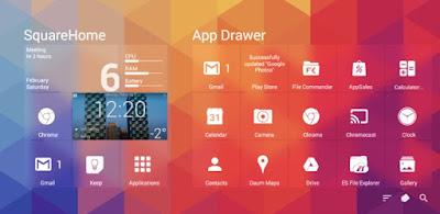 Download SquareHome 2 Premium – Win 10 style v1.1.1 Apk