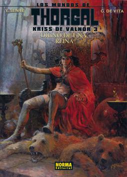 Kriss de Valnor 3. Digno de una reina - Thorgal de Sente y De Vita, edita Norma editorial