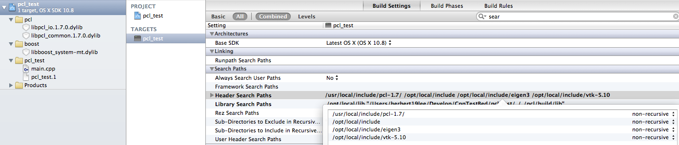 Binlong Li's Blog: Install PCL and first project in XCode