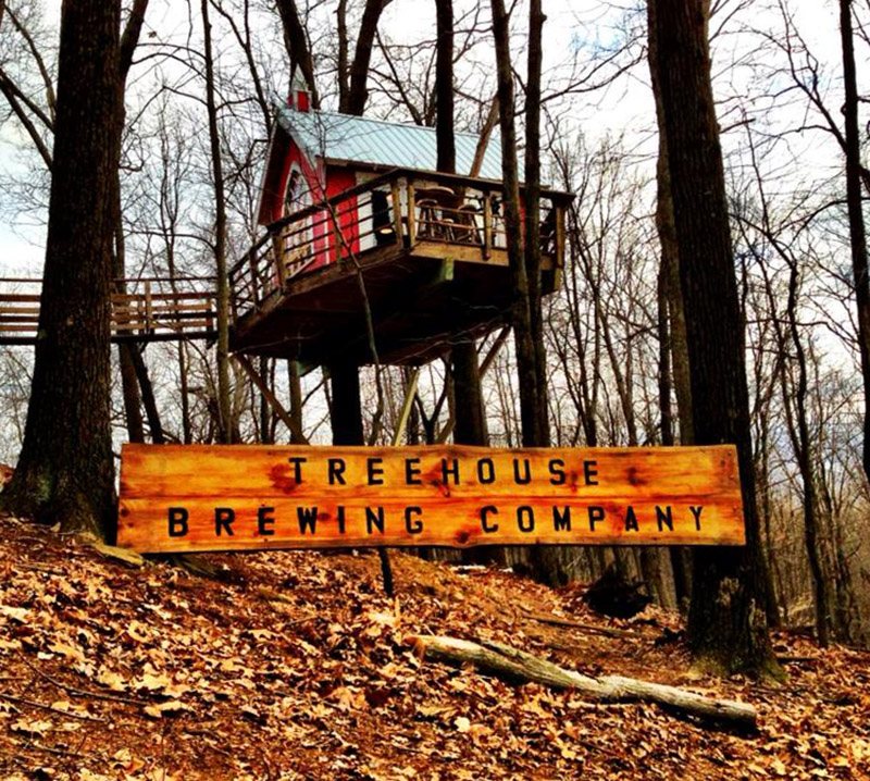 A Brewery In A Treehouse By Pete Nelson