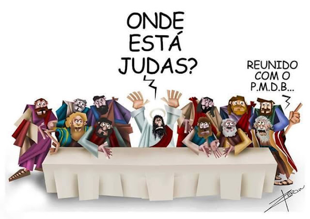 Resultado de imagem para Judas Temer