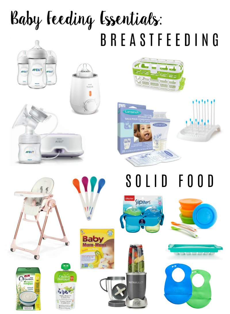 Baby Feeding Essentials: 6 Months