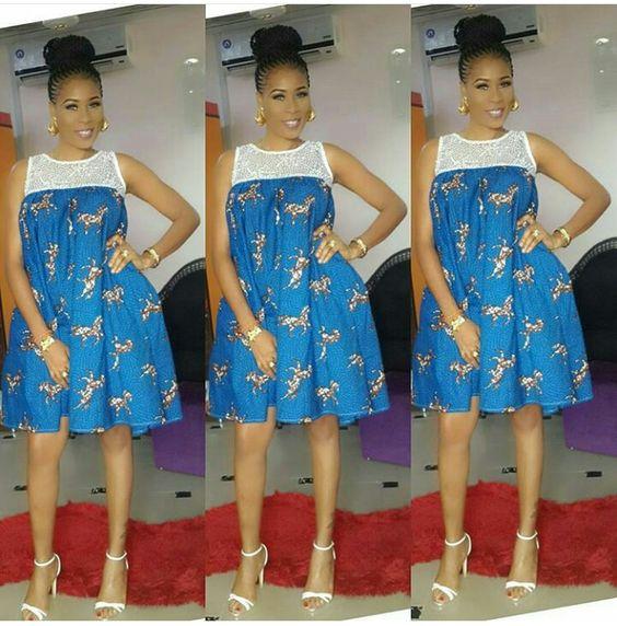 Ankara Xclusive: Classic, Stylish and Latest Ankara Short Dresses ...
