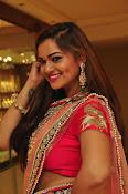Aswhini latest sizzling half saree pics-thumbnail-15