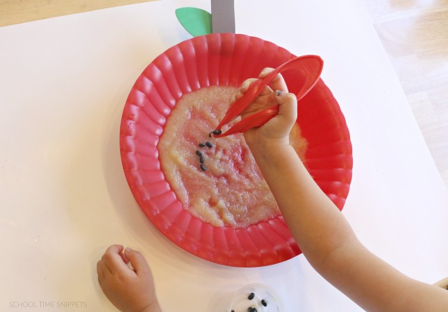 apple fine motor activity