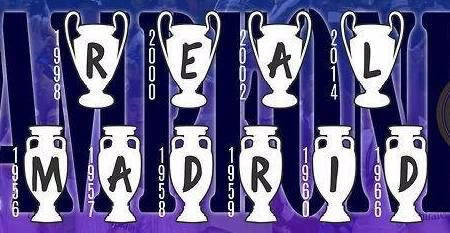 REAL MADRID CHAMPION OF UEFA CHAMPION LEAGUE