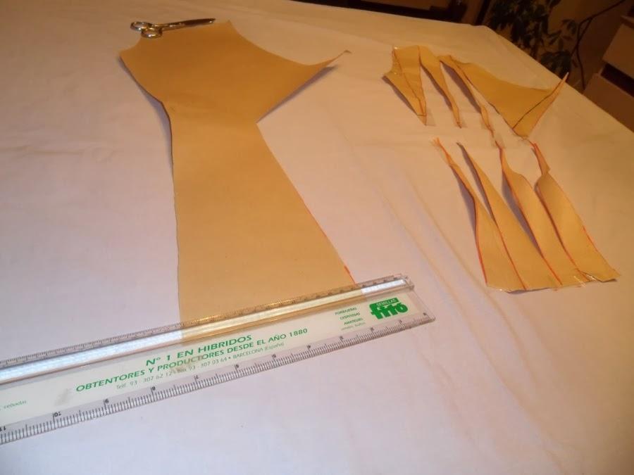 cómo hacer una blusa o top con nudo. Patrón