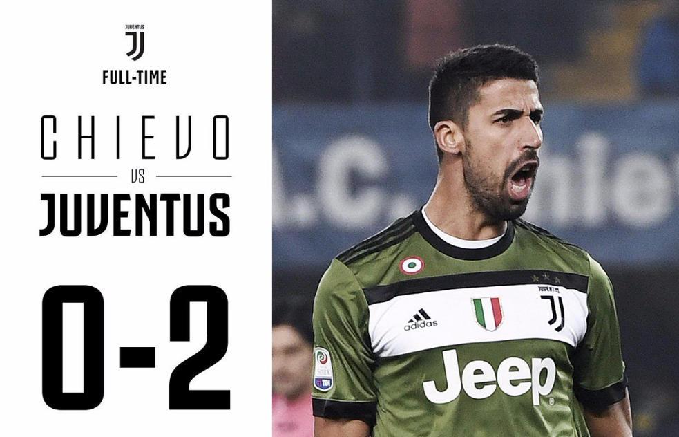 Khedira Higuain salvano la faccia alla Juventus: 0-2 al Chievo e primato in classifica in attesa di Napoli-Bologna