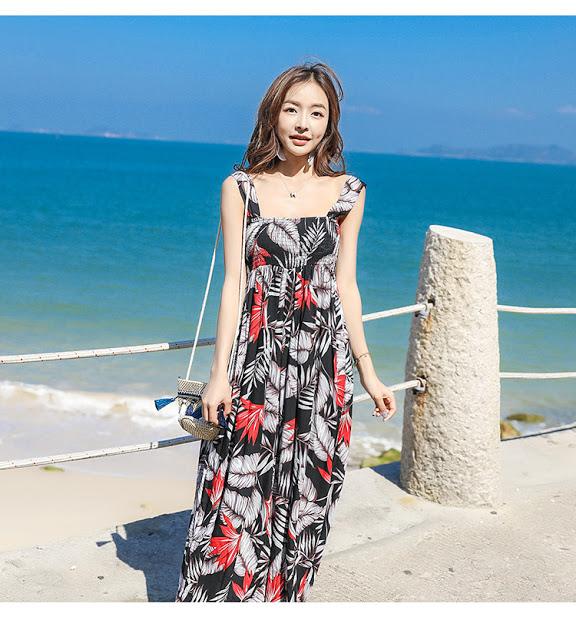 Shop ban vay maxi tai Hoang Mai