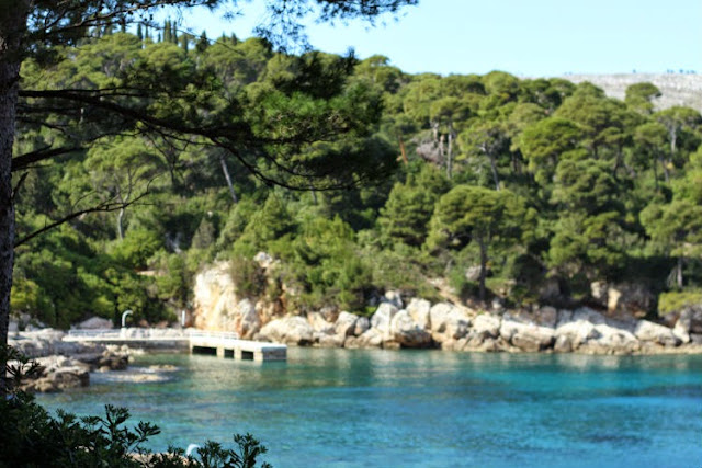 Visiting Lokrum Island in Croatia