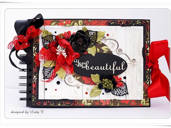 Black & Red for my sister :) / Czarno-czerwony dla siostry :)
